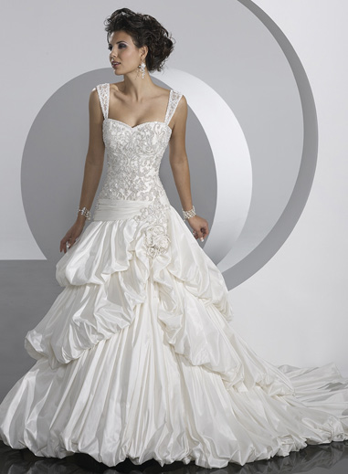 Wedding Dress_A-line gown SC001