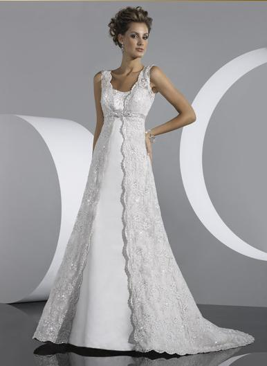 Wedding Dress_A-line gown SC014