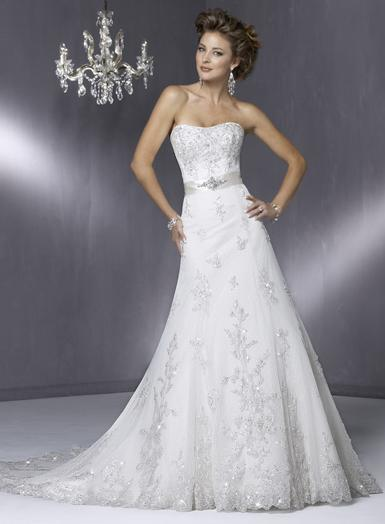 Wedding Dress_A-line gown SC024