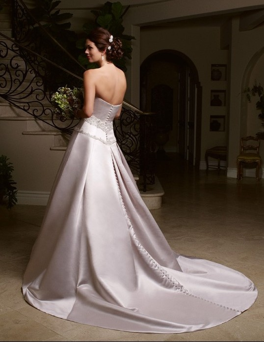Orifashion HandmadeGraceful Simple Style Bridal Gown / Wedding D